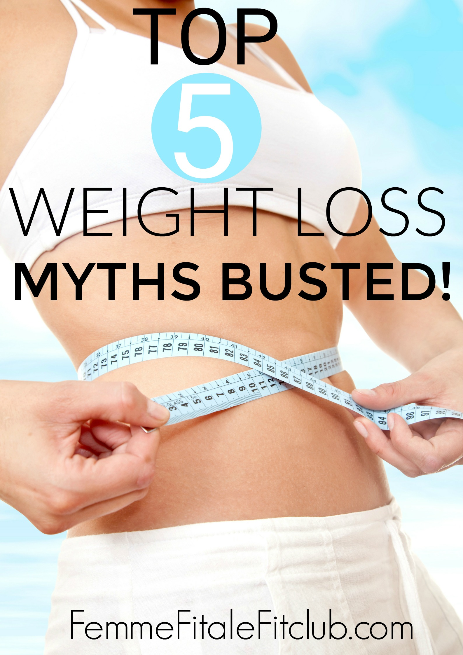 Top 5 weight loss myths busted #weightloss #weightlosstips #fatloss #health #wellness