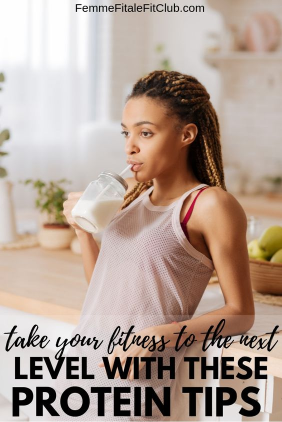 Leave Them in the Dust with these Protein Tips to help you take your fitness to the next level. #protein #proteinpowder