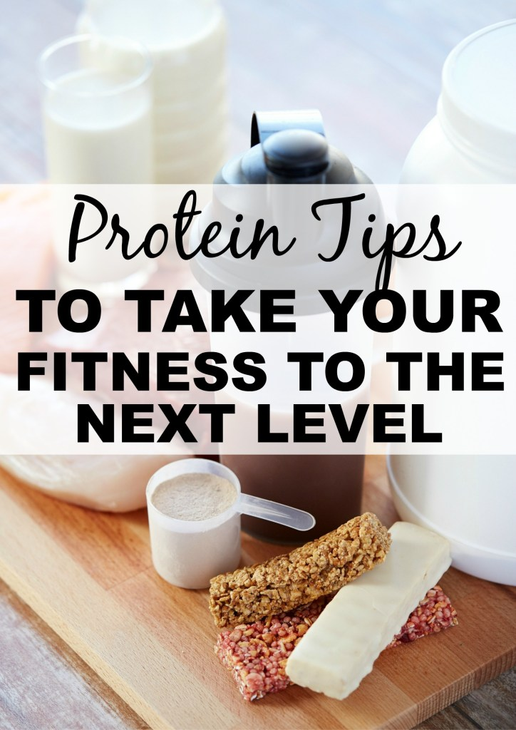 Protein tips to take your fitness to the next level
