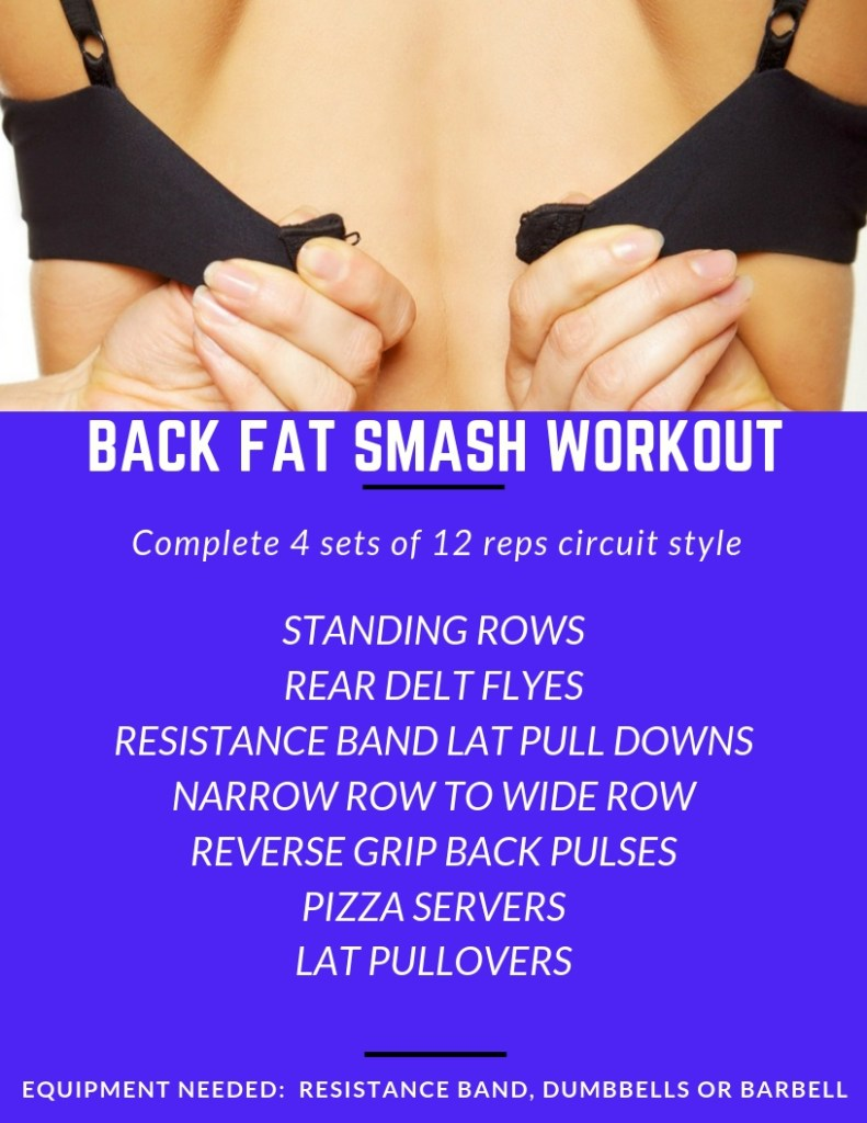 Back Fat Smash Workout #brafat #backfat #rows #lats #latissimusdorsi #workout #exercise #fitness #backworkout (1)