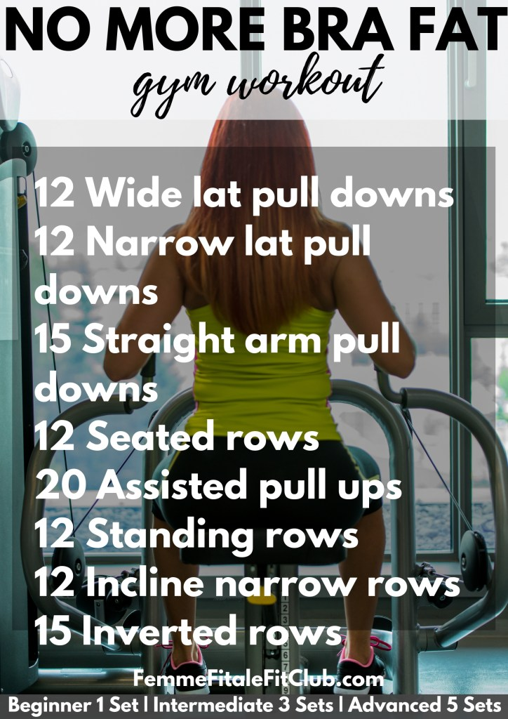 No More Bra Fat gym workout #backfat #workout #brafat #fitness #gymtime #gym #backworkout #health #fitnesstips #healthtips #wellness #wellnesstips #gymworkout #backfat #brafat
