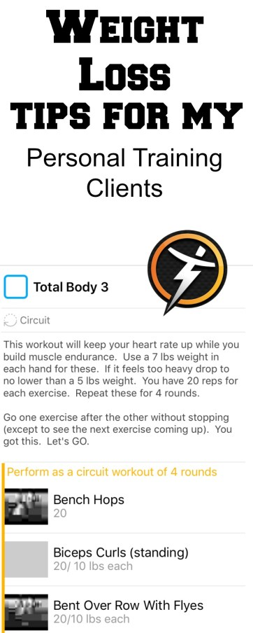 Here are the weight loss tips I share with my personal training and fitness coaching clients. #trainerize #weightlosstips #fittips #fitnesstips #healthtips #wellnesstips
