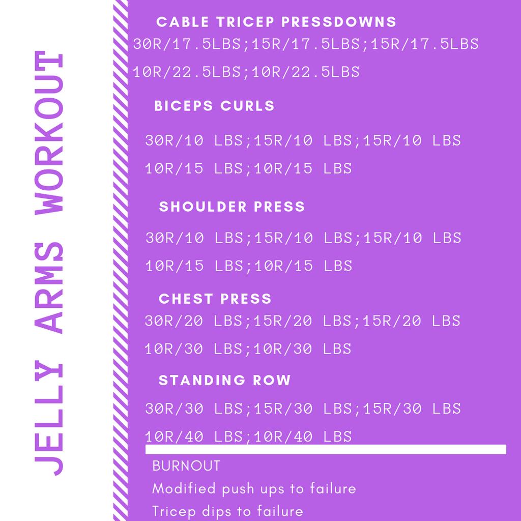 Jelly Arms Workout #arms #workoutforbeginners #athomeworkouts #homeworkouts #exercise #workout #calisthenics #fitness #fatloss #weightloss
