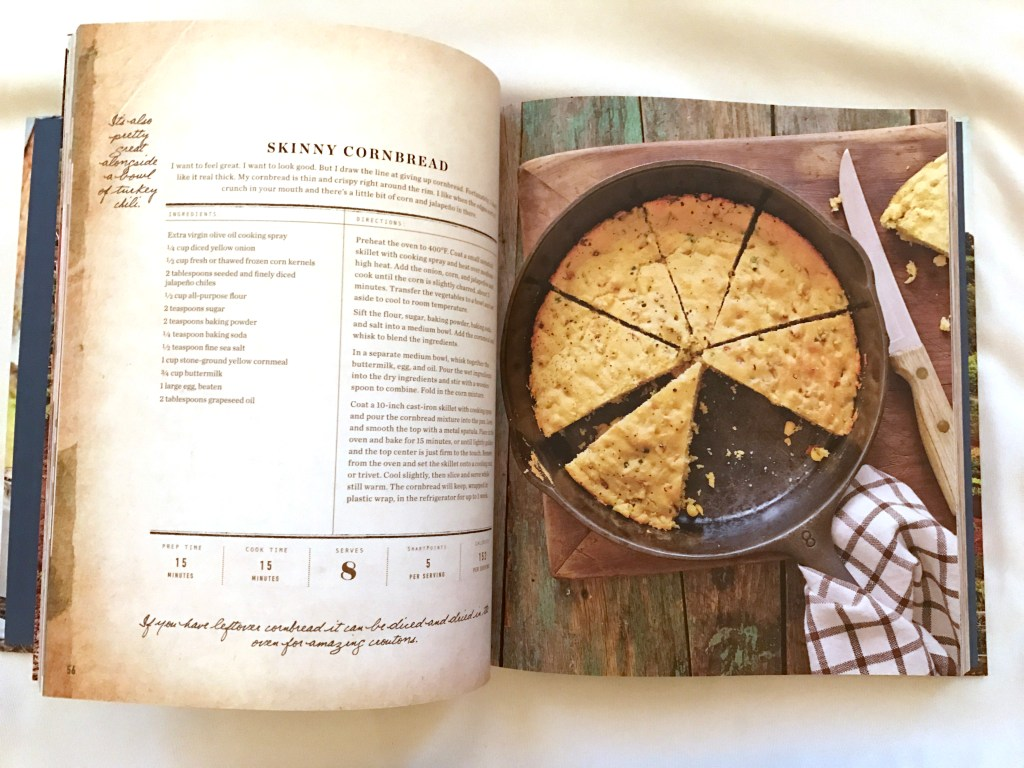 Skinny Cornbread recipe