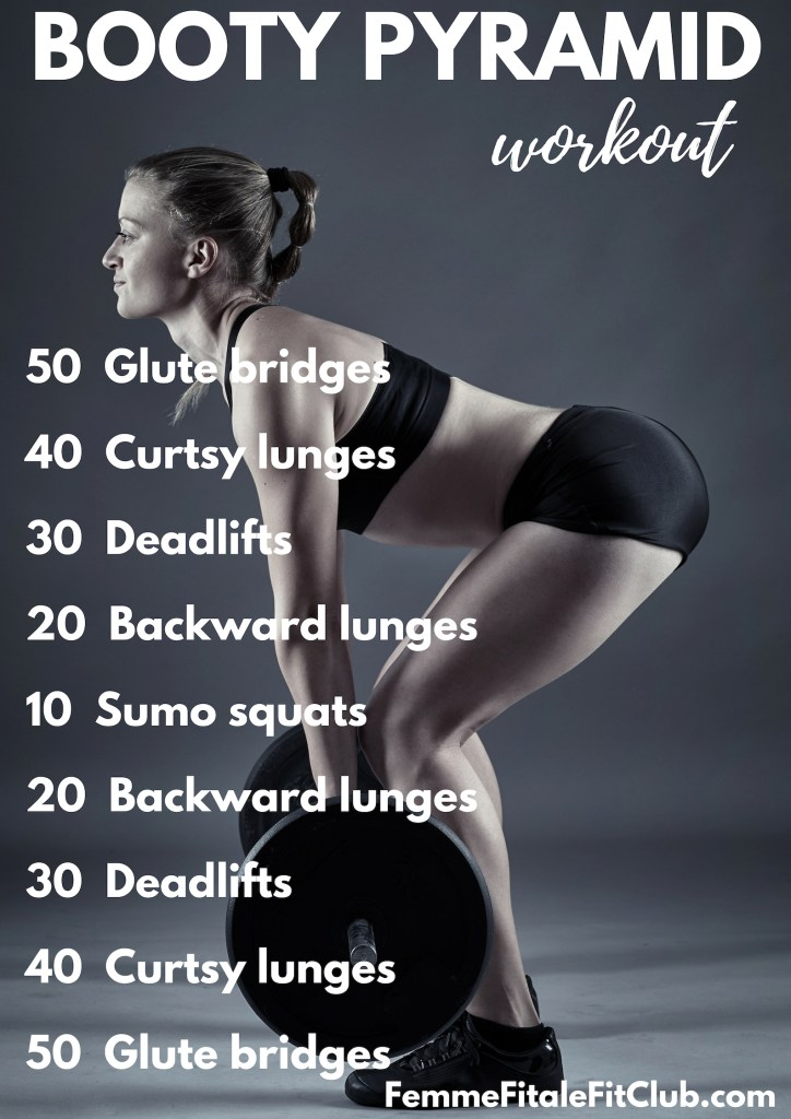 Booty Pyramid Workout #glutes #buttworkout #brazilianbutt #brazilianbuttworkout #bubblebutt #posteriorchain #hamstrings #homeworkout #athomeworkout #workoutsforwomen #athomeworkoutsforwomen #buildabootyworkout
