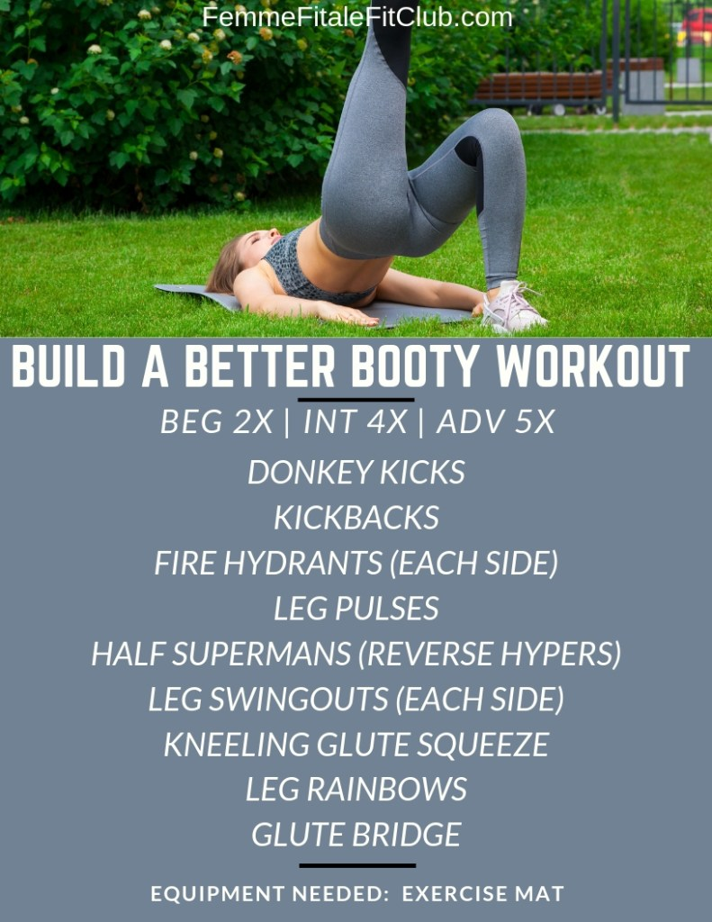 Build A Better Booty Workout Without Squats #bigbooty #bubblebutt #bootyday #bootyworkout #buildabooty #bootyworkouts #bootygains #upperbooty