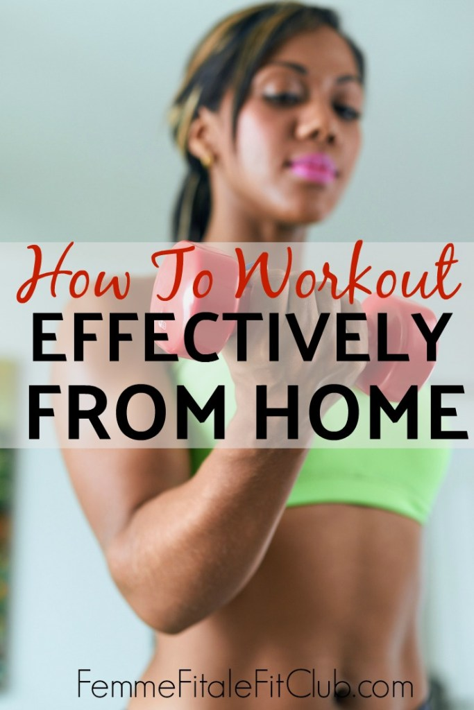 Here's how you can workout effectively from home.  You don't need a home gym to burn calories and lose fat.  #homegym #workoutathome #homeworkout #nogymworkout #exercise #athomeworkouts