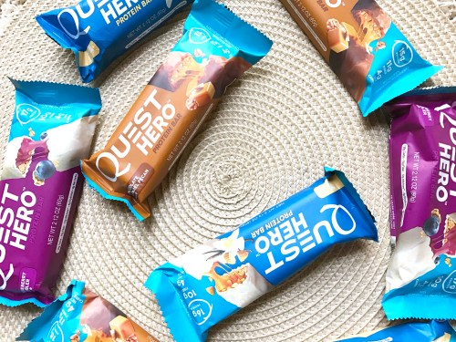 Quest Hero Protein Bars variety of flavors