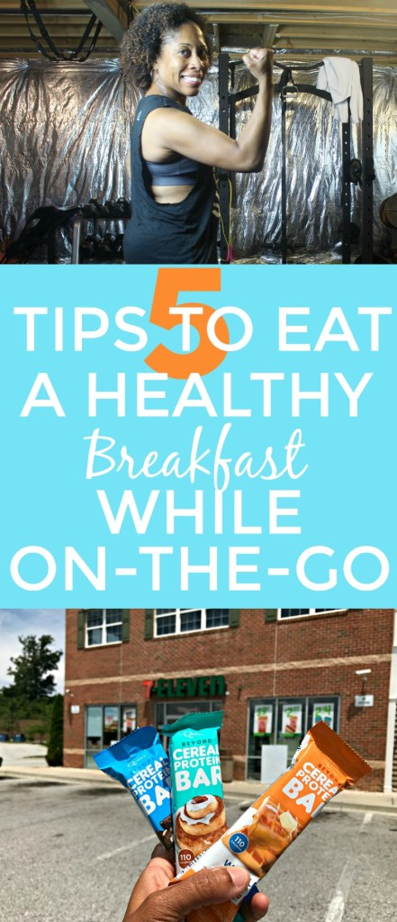 5 Tips To Eat A Healthy Breakfast While On The Go