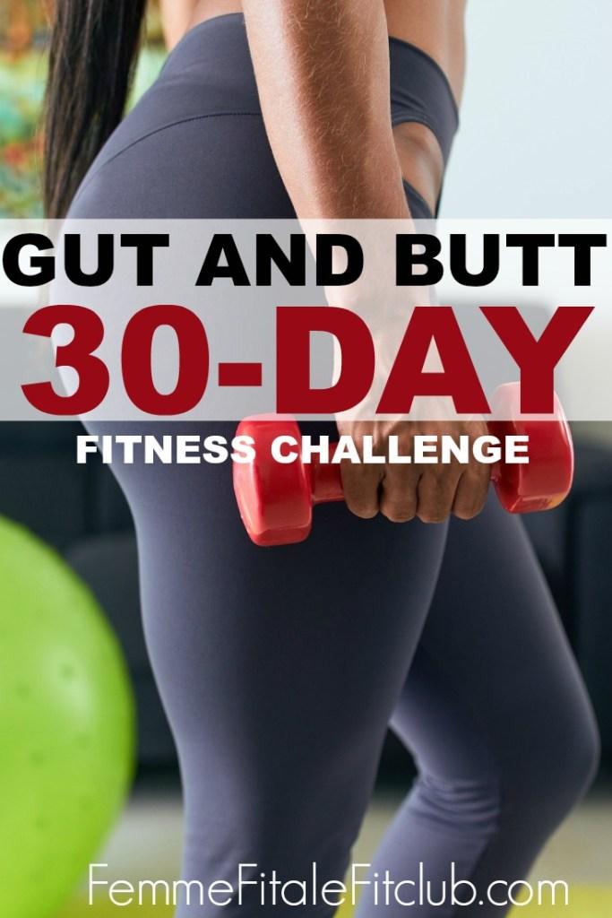 Gut And Butt Fitness Challenge #gutandbutt #squatchallenge #abchallenge #fitnesschallenge