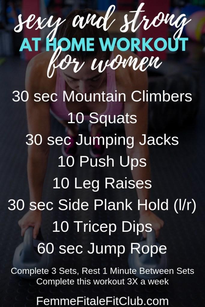 Strong And Sexy at Home Workout For Women #sexyworkout #weightlossforwomen #athomeworkoutforwomen #sexyandstrong #strongworkout #strongworkoutforwomen #calisthenics #fitness #fitfam #fatlossforwomen (1)