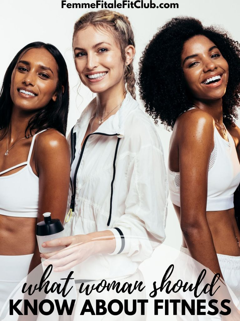 What women should know about fitness #fitness #weightlossforwomen #womenshealth #getfit