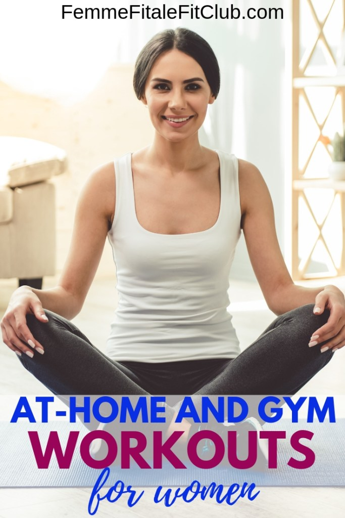 If you don't have a gym membership no problem, check out these 10 amazing at-home fat-burning workouts for women #covid19 #coronavirusfree #weightlossforwomen #homeworkoutsforwomen #gymworkoutsforwomen #fatlossforwomen #weightlossjourney #fatloss #weightloss #gethealthy #healthyandfit #womensfitness #nogerms