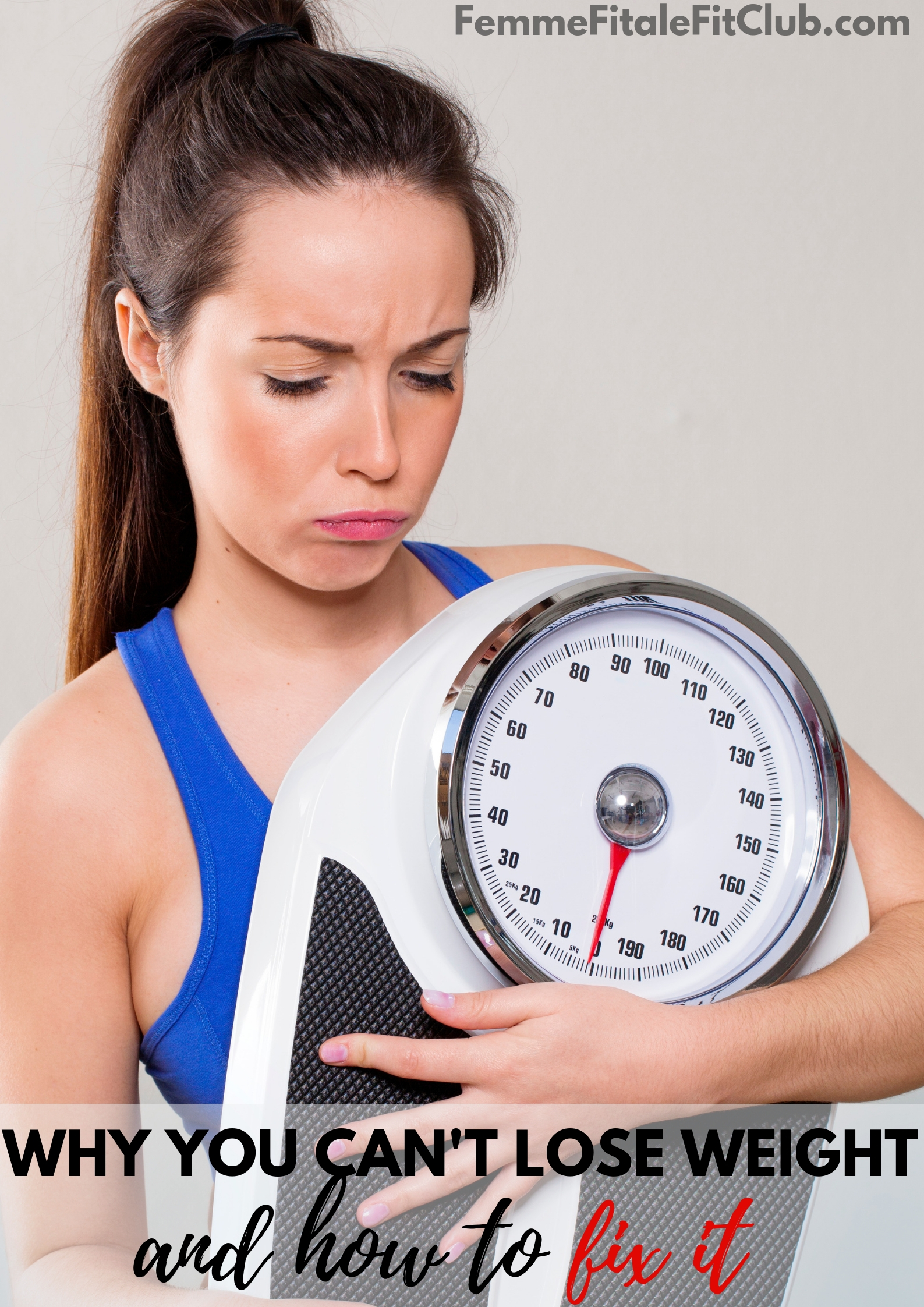 Why you can't lose weight and how to fix it #weightloss #womenshealth #womensweightloss #fatloss