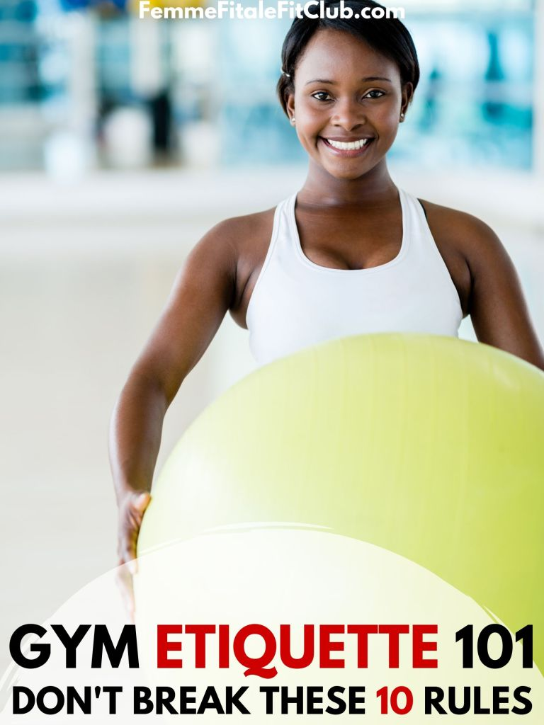 Gym Etiquette 101 - Don't Break These 10 Rules #gymetiquette #gymrules #gymprotocol #fitness #exercise #gym (1)