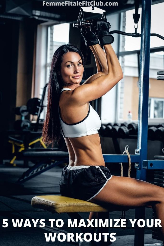 Here are 5 key ways to get the most out of each and every workout to lose the most weight faster. #womenshealth #fitness #workout #femalehealth #bodybuilding #bikinicompetitor #fitnesstips #fatloss #fatlosstips