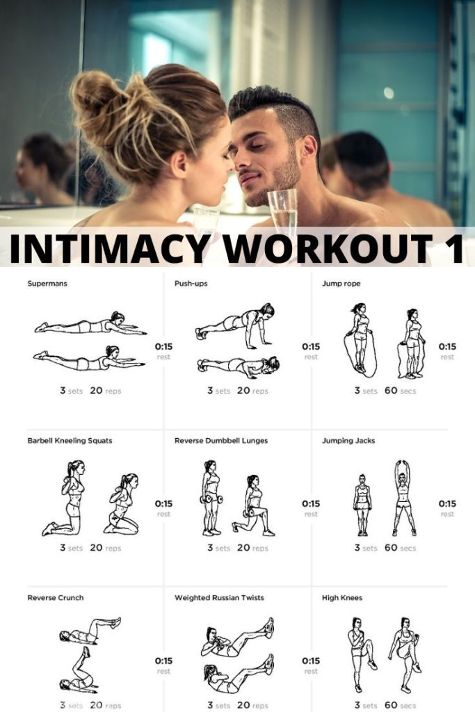 Rekindle your relationship with this 30 Days Of Intimacy Challenge and make sure you have the strength, endurance and stamina to complete the challenge with this workout. #marriage #marriedlife #married #health #exercise #sex #sexy #sexdrive #stamina #endurance #fitness