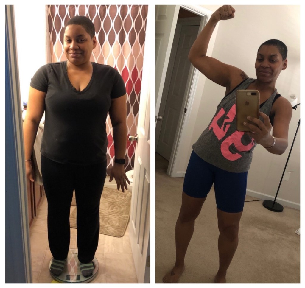 Rashawn Berry DietBet Transformation #weightlossbeforeandafter #weightlosstransformation #weightlosstips #blackwomenweightloss #weightlosssuccess #dietbet #stepbet #runbet