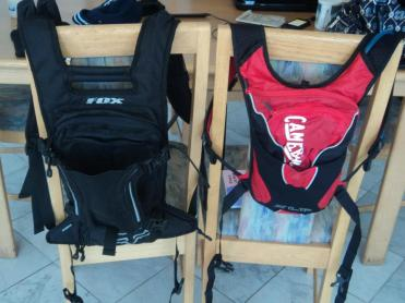 ...these - our brand new camelbacks