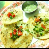 Recipe for Instant Uttapam