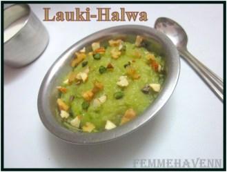 Lauki-Halwa/ Bottle-Gourd Pudding (Three Ingredients Recipe)