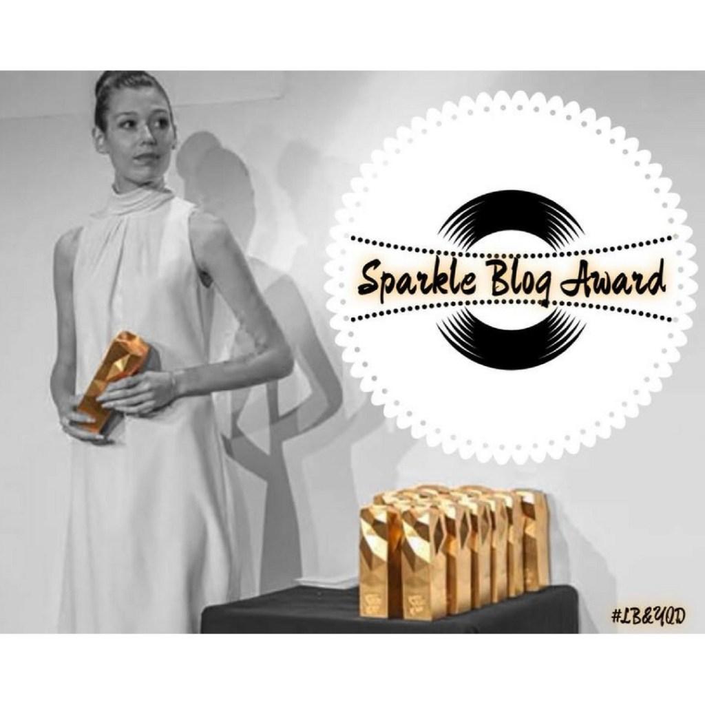 sparkle blog award