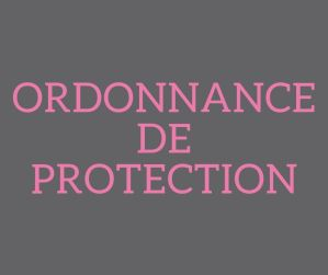 Ordonnance de protection