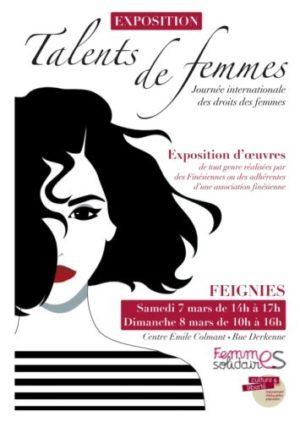 "FEIGNIES – Exposition ""Talents de femmes"""