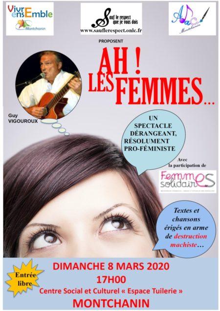"""Montchanin – Spectacle """"Ah ! Les femmes…"""""""