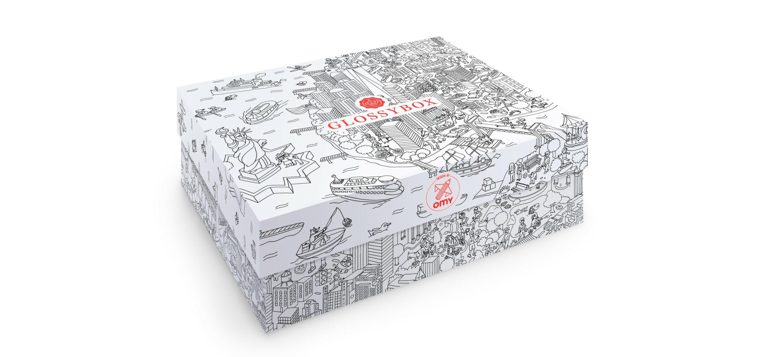 La it-box glossybox X Omy: entre beauté et créativité
