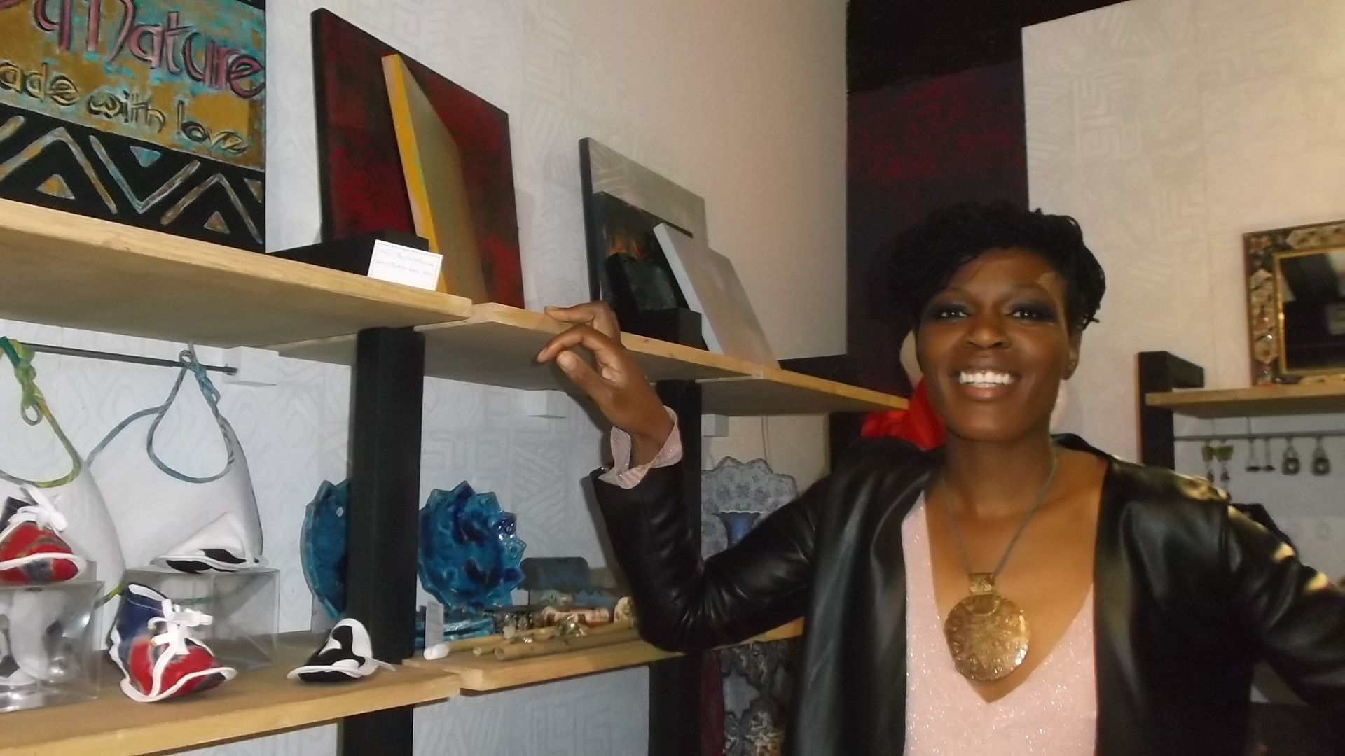Christiane Ngono: design afro chic et convivial