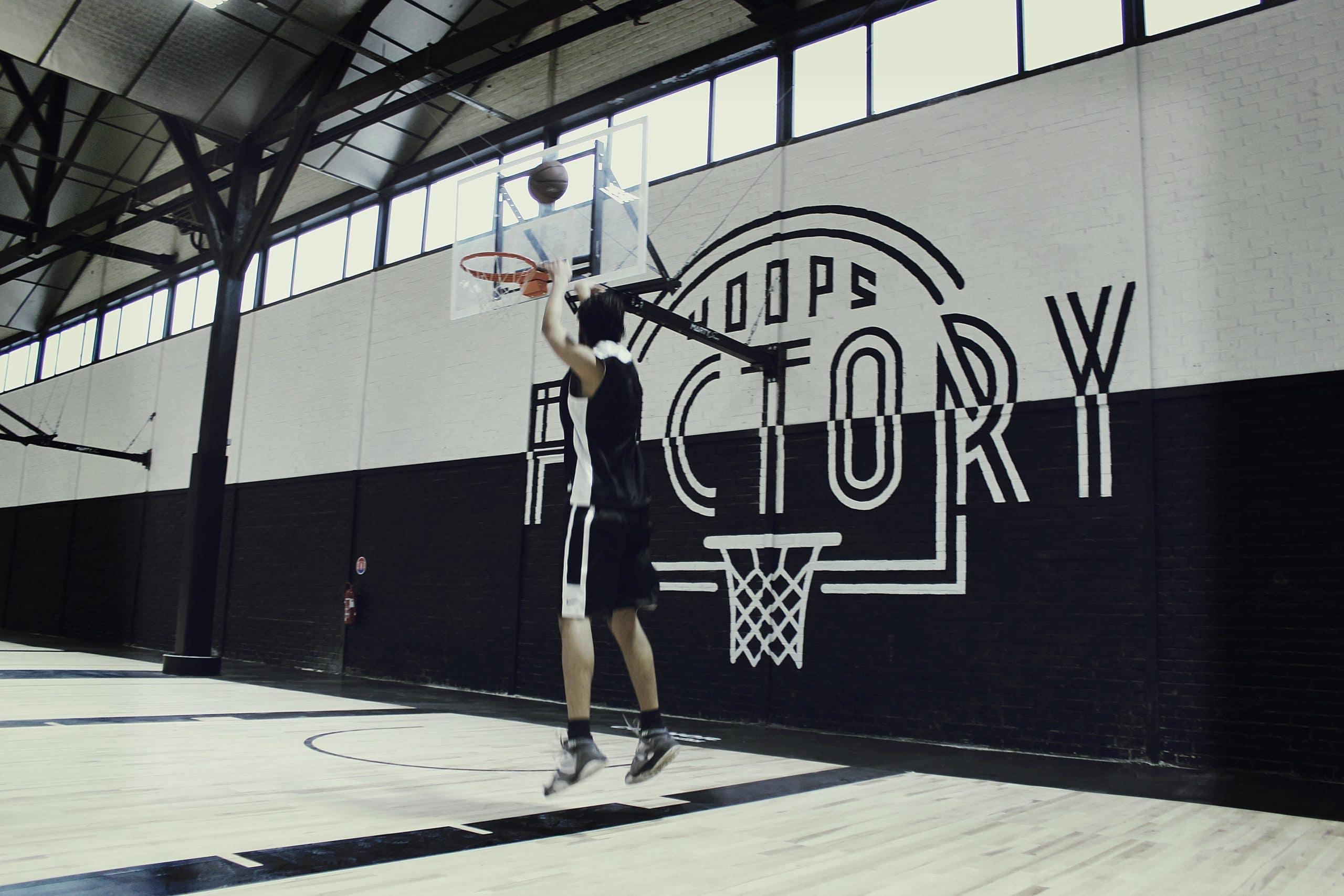 HOOPS FACTORY: Premier complexe indoor de basketball en France