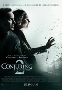 Warner Conjuring 2 affiche