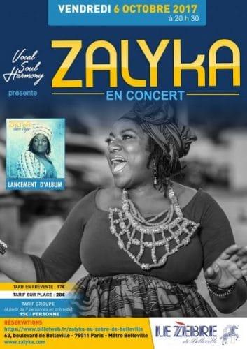 Zalyka en Concert