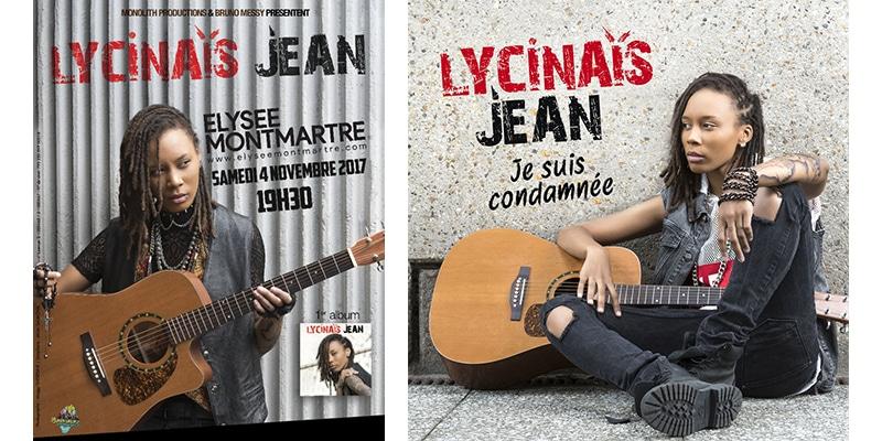 Lycinaïs Jean: rendez-vous le 4 novembre à l'Elysée Montmartre