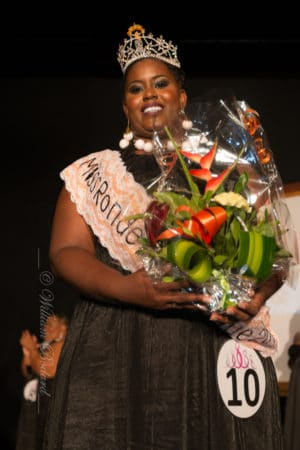 Lucrécia Rosamond, Miss Ronde Martinique 2017
