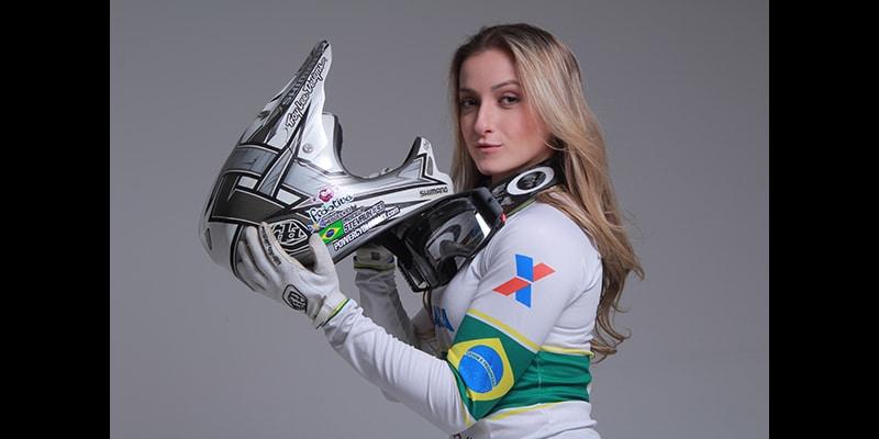 Priscilla Stevaux : une championne de BMX au pays du foot!
