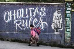 cholitas bolivie communauté