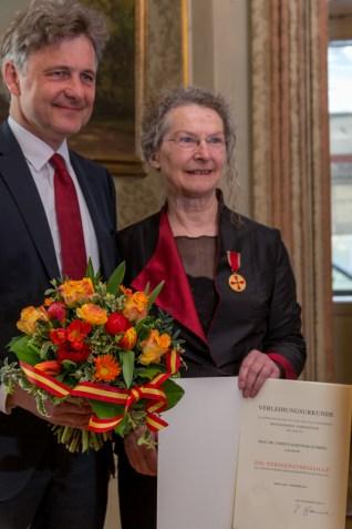 Oberbürgermeister und Christa Hartnigk-Kümmel