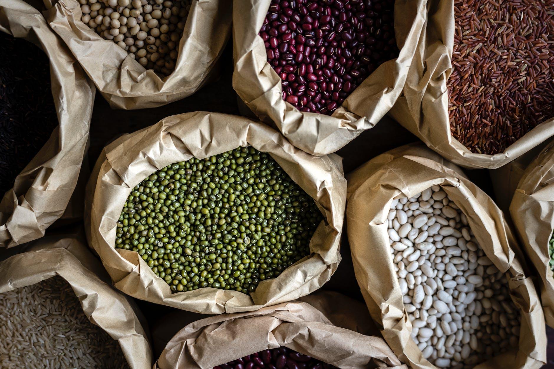 grains legumes high physic acid