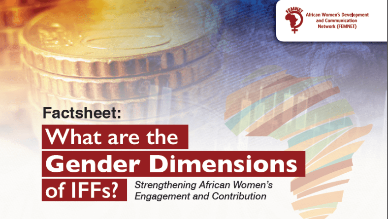 Factsheet: What are the Gender Dimensions of IFFs?