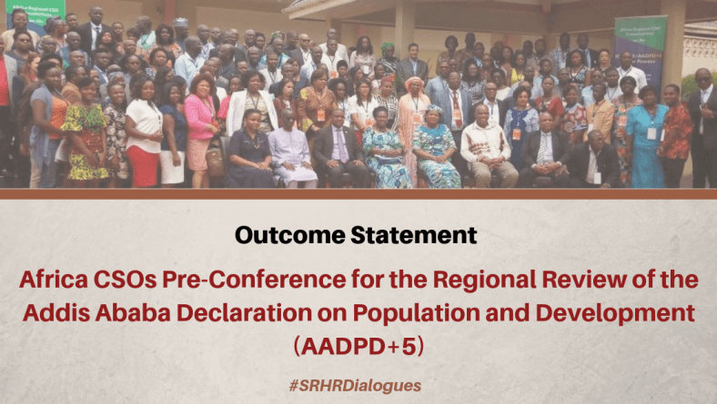 CSOs Key Recommendations on the Population and Development Agenda in Africa – AADPD+5