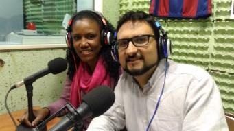 Grace Chalas i Jonatán Heredia