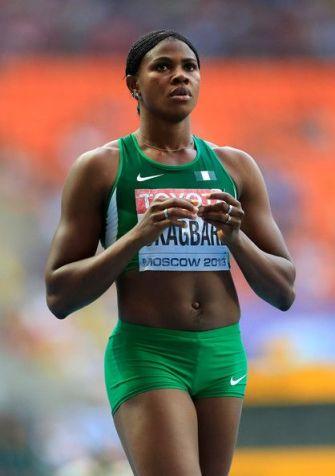 african athlete