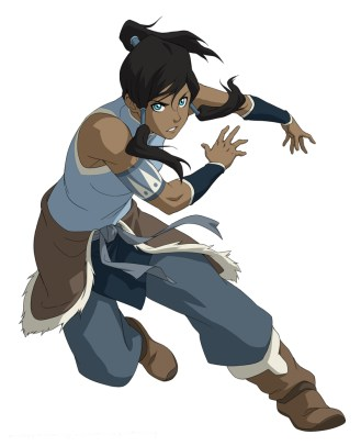 Pictured: Korra in THE LEGEND OF KORRA on Nickelodeon. Photo: Nickelodeon. ©2012 Viacom, International, Inc. All Rights Reserved