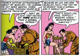 Wonder Woman perfect Venus measurements
