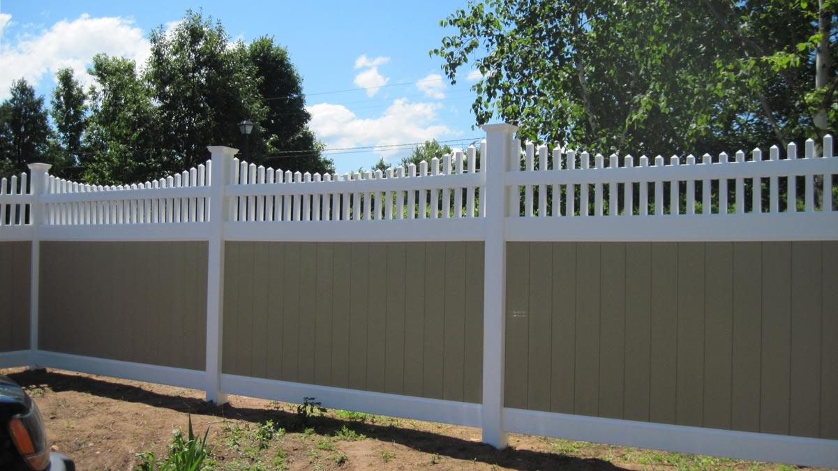 Vinyl fencing fence one llc vinyl fencing gallery baanklon Image collections