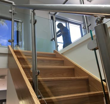 Glass Balustrade Stairs Melbourne