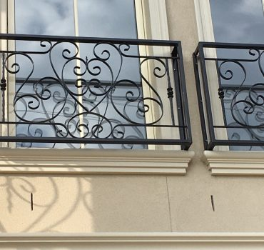 Wrought Iron Balustrades And Handrails