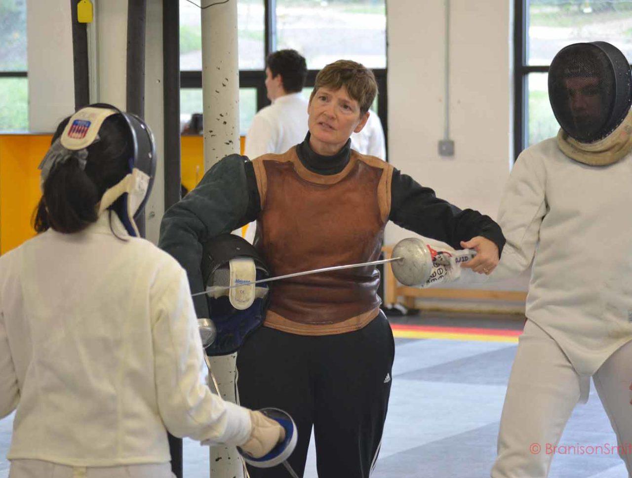 Coaching Fencing